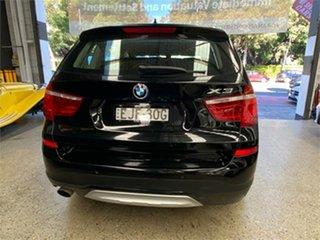 2014 BMW X3 F25 LCI xDrive20i Black Automatic Wagon