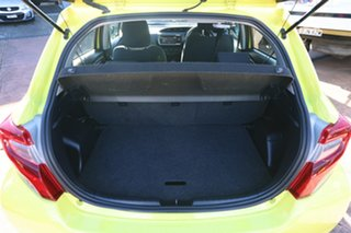 2015 Toyota Yaris NCP130R MY15 Ascent Yellow 4 Speed Automatic Hatchback