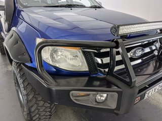 2011 Ford Ranger PX XLT Super Cab Blue 6 Speed Sports Automatic Utility.