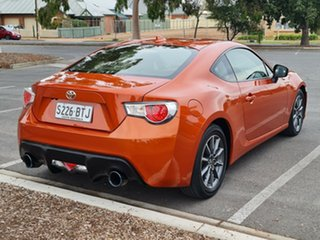 2014 Toyota 86 ZN6 GT Orange 6 Speed Manual Coupe