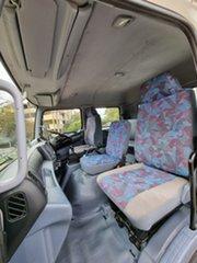 2006 Hino FT 1J White Dual Cab 4x4
