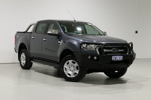 Used Ford Ranger PX MkII XLT 3.2 (4x4) Bentley, 2015 Ford Ranger PX MkII XLT 3.2 (4x4) Grey 6 Speed Automatic Double Cab Pick Up