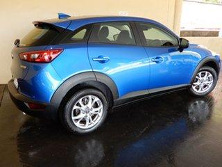 2018 Mazda CX-3 DK MY19 Neo Sport (FWD) Blue 6 Speed Automatic Wagon.