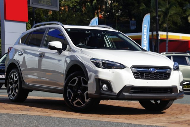 Used Subaru XV G5X MY18 2.0i-S Lineartronic AWD Newstead, 2018 Subaru XV G5X MY18 2.0i-S Lineartronic AWD White 7 Speed Constant Variable Wagon