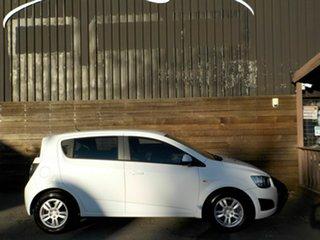 2012 Holden Barina TM MY13 CD White 6 Speed Automatic Hatchback.