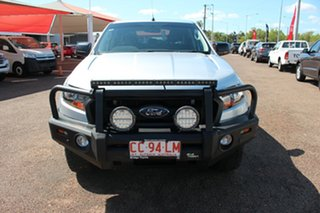 2017 Ford Ranger PX MkII 2018.00MY XL Silver 6 Speed Sports Automatic Utility.