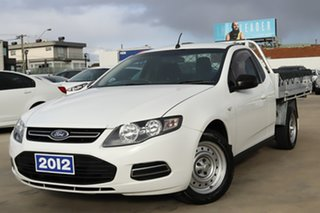 2012 Ford Falcon FG MkII EcoLPi Super Cab White 6 Speed Sports Automatic Cab Chassis.