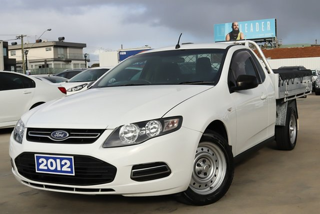 Used Ford Falcon FG MkII EcoLPi Super Cab Coburg North, 2012 Ford Falcon FG MkII EcoLPi Super Cab White 6 Speed Sports Automatic Cab Chassis