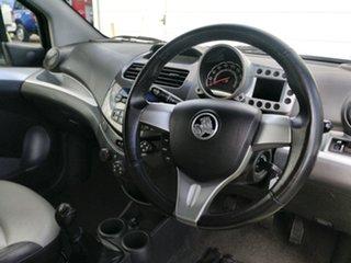2010 Holden Barina Spark MJ MY11 CDX Green 5 Speed Manual Hatchback