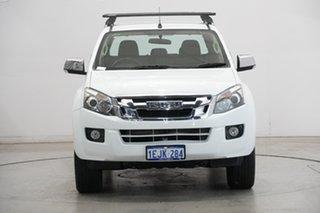 2014 Isuzu D-MAX MY14 LS-U Crew Cab White 5 Speed Sports Automatic Utility.
