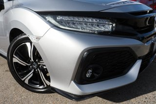 2018 Honda Civic 10th Gen MY18 RS Silver 1 Speed Constant Variable Hatchback.