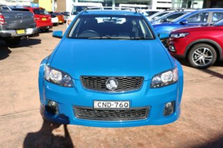 2013 Holden Commodore VE II MY12.5 SV6 Z-Series Blue 6 Speed Automatic Sportswagon