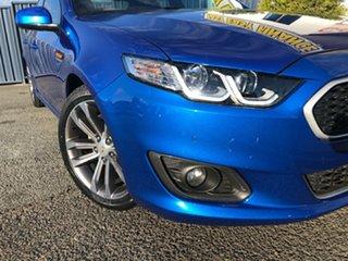 2014 Ford Falcon FG X XR6 Blue 6 Speed Sports Automatic Sedan.