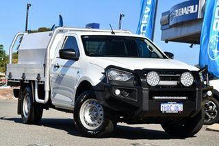 2020 Isuzu D-MAX RG MY21 SX 4x2 High Ride White 6 Speed Sports Automatic Cab Chassis.