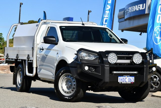 Used Isuzu D-MAX RG MY21 SX 4x2 High Ride Melville, 2020 Isuzu D-MAX RG MY21 SX 4x2 High Ride White 6 Speed Sports Automatic Cab Chassis