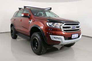 2016 Ford Everest UA MY17 Trend Red 6 Speed Automatic SUV.