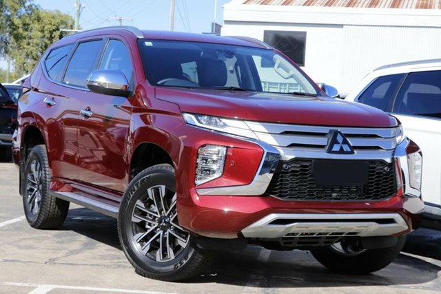 New Mitsubishi Pajero Sport QF MY21 Exceed Mount Gravatt, 2021 Mitsubishi Pajero Sport QF MY21 Exceed Terra Rossa 8 Speed Sports Automatic Wagon