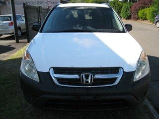 2002 Honda CR-V MY03 (4x4) White 4 Speed Automatic Wagon.