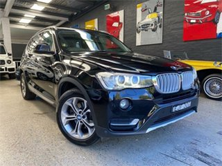 2014 BMW X3 F25 LCI xDrive20i Black Automatic Wagon.