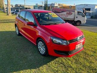2012 Volkswagen Polo 6R MY12.5 Trendline DSG 7 Speed Sports Automatic Dual Clutch Hatchback.