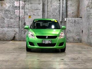 2013 Suzuki Swift FZ GL Green 4 Speed Automatic Hatchback.