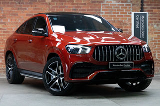 2020 Mercedes-Benz GLE-Class C167 801MY GLE53 AMG SPEEDSHIFT TCT 4MATIC+ Hyacinth Red 9 Speed.