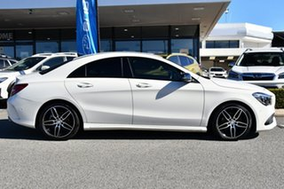 2016 Mercedes-Benz CLA-Class C117 807MY CLA200 DCT White 7 Speed Sports Automatic Dual Clutch Coupe