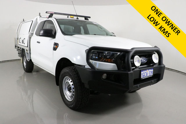 Used Ford Ranger PX MkII XL 3.2 (4x4) Bentley, 2016 Ford Ranger PX MkII XL 3.2 (4x4) White 6 Speed Manual Super Cab Chassis
