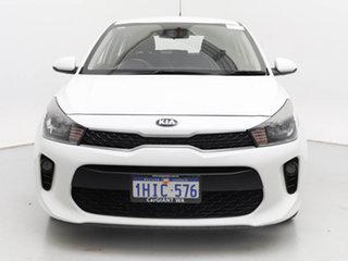 2018 Kia Rio YB MY18 S White 4 Speed Automatic Hatchback.