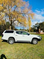 2020 Mitsubishi Triton MR MY20 GLX+ Double Cab White 6 Speed Sports Automatic Utility