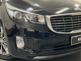 2017 Kia Carnival YP MY18 SLi Black 6 Speed Sports Automatic Wagon.