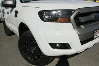 2017 Ford Ranger PX MkII XLS Double Cab Cool White 6 Speed Sports Automatic Utility.