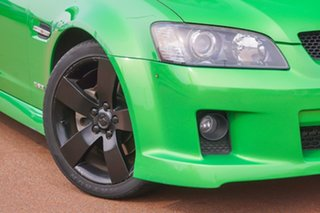 2008 Holden Ute VE SS V Green 6 Speed Sports Automatic Utility.