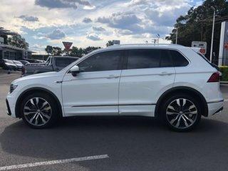 2017 Volkswagen Tiguan 5N MY17 162TSI DSG 4MOTION Highline White 7 Speed