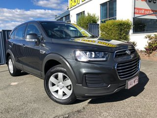 2016 Holden Captiva CG MY16 LS 2WD Son of a Gun Grey 6 Speed Sports Automatic Wagon.