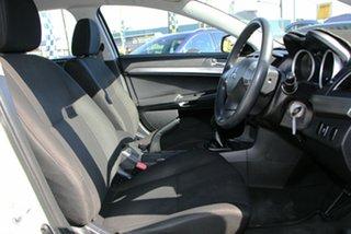 2014 Mitsubishi Lancer CJ MY14.5 ES Sport White 5 Speed Manual Sedan