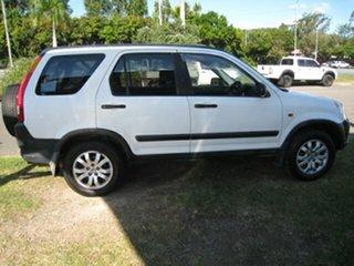 2002 Honda CR-V MY03 (4x4) White 4 Speed Automatic Wagon