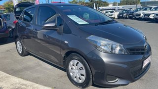 2013 Toyota Yaris NCP130R YR Magnetic Grey 4 Speed Automatic Hatchback.