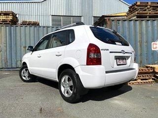 2008 Hyundai Tucson JM MY07 City SX White 4 Speed Sports Automatic Wagon