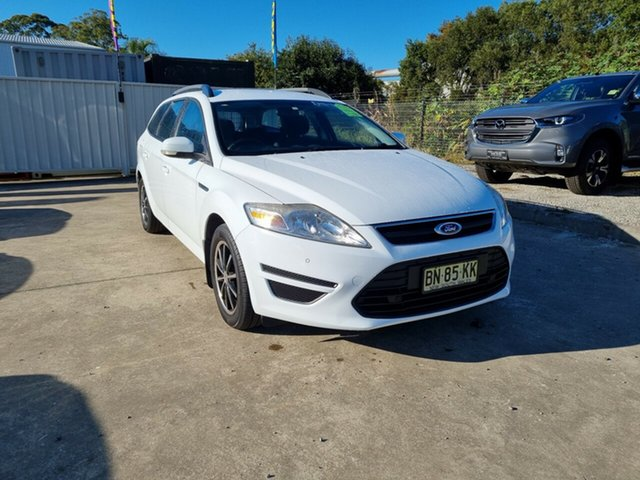 Used Ford Mondeo MC LX Glendale, 2011 Ford Mondeo MC LX White 6 Speed Sports Automatic Wagon