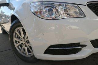 2014 Holden Commodore VF MY15 Evoke White 6 Speed Automatic Sedan.