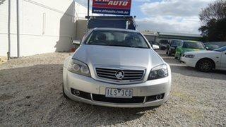 2009 Holden Statesman WM MY09.5 Silver 5 Speed Sports Automatic Sedan