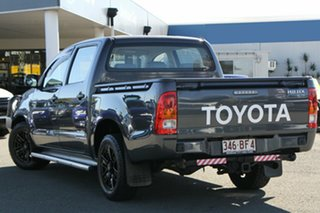 2008 Toyota Hilux TGN16R MY08 Workmate 4x2 Charcoal 5 Speed Manual Utility.