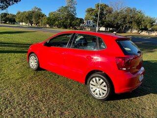 2012 Volkswagen Polo 6R MY13 Trendline DSG Red 7 Speed Sports Automatic Dual Clutch Hatchback