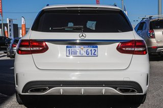 2015 Mercedes-Benz C-Class S205 C250 Estate 7G-Tronic + White 7 Speed Sports Automatic Wagon