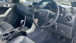 2012 Mazda BT-50 GT (4x4) Black 6 Speed Automatic Dual Cab Utility