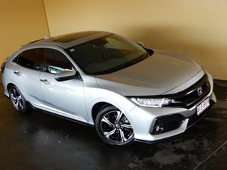 2018 Honda Civic MY18 RS Silver Continuous Variable Hatchback