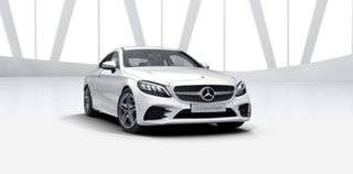 2021 Mercedes-Benz C-Class C205 801MY C200 9G-Tronic Polar White 9 Speed Sports Automatic Coupe
