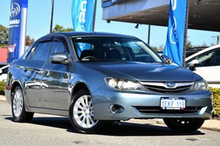 2009 Subaru Impreza G3 MY09 R AWD Sage Green 5 Speed Manual Sedan.