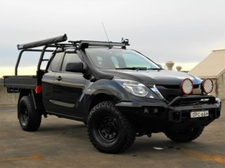 2017 Mazda BT-50 UR0YG1 XT Freestyle Black 6 Speed Sports Automatic Cab Chassis.